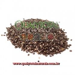 Semente de Chia em Grãos Preta (granel)