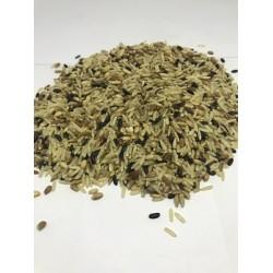 Arroz 7 grãos 1 (Ing: Arroz integral agulhinha, arroz vermelho , arroz preto, cevadinha, trigo, aveia e centeio) (granel)